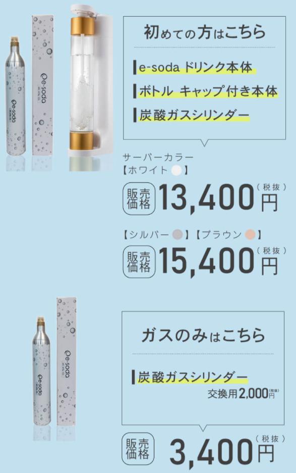 e-soda製品②