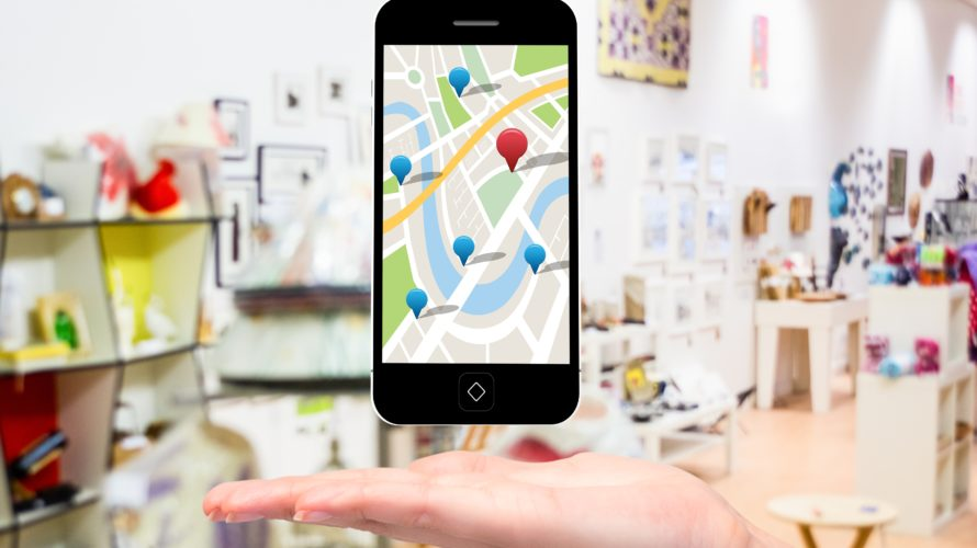 Googleマップを使用したモバイル