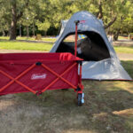 【実際に買ってみた】テントの相棒は『コールマンのアウトドアワゴン』がまじで便利!